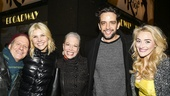 Fiddler on the Roof - Opening - 12/15 - Martin Moran, Amanda Kloots-Larsen, Marin Mazzie, Nick Cordero and Betsey Wolfe
