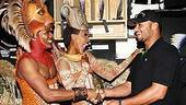 Johan Santana at Lion King - Dashaun Young - Kissy Simmons - Johan Santana