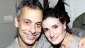 It's a Wicked reunion for Joe Mantello and Idina Menzel! The original Elphaba couldn't be happier to support her former director on his return to the stage in The Normal Heart.