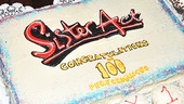 Sister Act 100th performance – Sister Act cake
