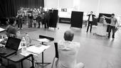 <i>Bonnie & Clyde</i> Rehearsal -  Jeremy Jordan