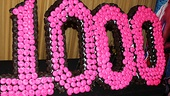 Memphis Celebrates 1,000 Performances – 1,000 Cupcake Cake