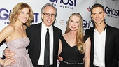 Ghost Opening Night – Caissie Levy – Jerry Zucker – Lisa Niemi – Richard Fleeshman