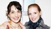 Jessica Chastain and Katie Finneran at Clybourne Park – Annie Parisse – Jessica Chastain