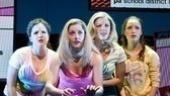 Janet  Krupin, Tayor Louderman, Kate Rockwell & Elle McLemore in Bring It On: The Musical.