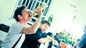 Starcatcher-Backstage-Rick Holmes-Evan Harrington