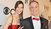 Tony Red Carpet- Hayley Dumond- Keith Carradine