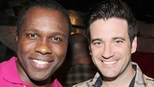 Joshua Henry and Colin Donnell play Flick and Monty, respectively, in the new revival.