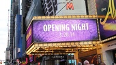 Aladdin - Opening - OP - 3/14 - marquee