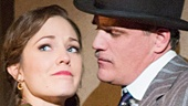 Michael Park as Macheath & Laura Osnes as Polly Peachum in The Threepenny Opera