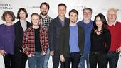 The Cripple of Inishmaan - Meet the Press - OP - 4/14 - Gillian Hanna - Ingrid Craigie - Conor MacNeill - Pádraic Delaney - Michael Grandage - Daniel Radcliffe - Pat Shortt - Sarah Greene - Gary Lilburn