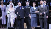 Megan Mullally, Nathan Lane, Sierra Boggess, Patrick Wilson and the cast of Guys and Dolls assemble for the finale.