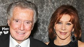 Bullets Over Broadway - Opening - OP - 4/14 - Regis Philbin - Joy Philbin