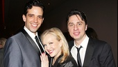 Bullets Over Broadway - Opening - OP - 4/14 - Nick Cordero - Susan Stroman - Zach Braff