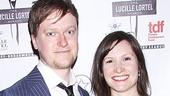 Lucille Lortel Awards  - OP - 5/14 - Steven Boyer - Emily Weiss