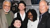 Hedwig and the Angry Inch - Backstage - OP - 5/14 - James Earl Jones - Whoopi Goldberg  - Richard Chamberlain - Neil Patrick Harris - Lena Hall