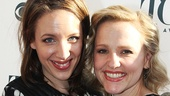 Beautiful stars Jessie Mueller and Anika Larsen.