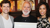 John Rubinstein strikes a pose with Pippin co-stars Kyle Dean Massey and Ciara Renee.