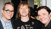 Matthew Broderick and Nathan Lane rally around Harry Potter favorite Rupert Grint, who is making his Broadway debut in It's Only a Play. See the cast in action at the Schoenfeld Theatre beginning August 28, 2014!
