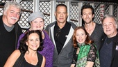 THe Last Ship - Backstage - 10/14 - Tom Hanks - Sally Ann Triplett - Shawna M. Hamic - Dawn Cantwell - Aaron Lazar - Rich Hebert