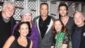 THe Last Ship - Backstage - 10/14 - Tom Hanks - Sally Ann Triplett - Shawna M. Hamic - Dawn Cantwell - Aaron Lazar - Rich Hebert