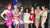 Kinky Boots - Backstage - 3/15 - Oprah Winfrey - Joey Taranto - Kyle Post - Robert Pendilla - Sean Patrick Doyle - Kevin Smith Kirkwood - Alfred Dalpino