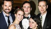 An American in Paris - opening - 4/15 - Andrew Rannells - Patti Murin - Max Von Essen - Rachel Dratch - Christopher J Hanke