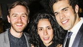 Fun Home - Opening - 4/15 - Danny Mefford - Roberta Colindrez - Joel Perez