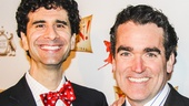 Something Rotten! - Opening - wide - 4/15 - John Cariani - Brian d'Arcy James