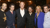 Hamilton - Backstage - Joe Biden - 7/15 - Lin Manuel Miranda - Thomas Kail,  Joe Biden, Alex Lacamoire, Jill Biden and Andy Blankenbuehler