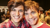 Spring Awakening - Meet the Press - 8/15 - Alex Boniello and Daniel N. Durant