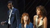 Clive Owen as Deeley, Kelly Reilly as Kate and Eve Best as Anna in Old TImes
