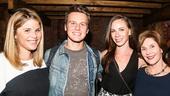 Hamilton - Backstage - 9/15 - Jenna Bush, Jonathan Groff, Barbara Bush & Laura Bush