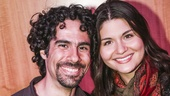 Hamilton - CD release - 10/15 - Alex Lacamoire and Phillipa Soo