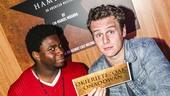 Hamilton - CD release - 10/15 - Okieriete Onaodowan and Jonathan Groff