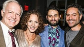 The Humans - Opening - 10/15 - Reed Birney, Krissy Shields and her husband Arian Moayed and Omar Metwally