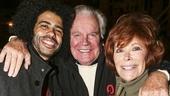 Hamilton - backstage - 10/15 - Daveed Diggs, Robert Wagner and Jill St John