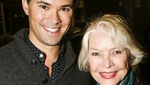 Hamilton - backstage - 10/15 - Andrew Rannells and Ellen Burstyn