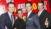 The Jersey Boys - 10th Anniversary - 11/15 - Quinn VanAntwerp, Joseph Leo Bwarie, Richard H Blake and Matt Bogart