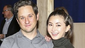 Waitress - Media Day - 3/16 - Christopher Fitzgerald and Kimiko Glenn