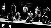 Hair rehearsal –onstage2