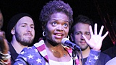 """Tony winner LaChanze and the cast of If/Then sing """"It's a Sign""""."""