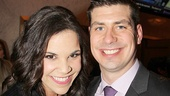 Lindsay Mendez and her date Ryan Bush hit the town.