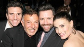 What do actor Charlie Sutton, choreographer Wayne Cilento, If/Then associate choreographer Mark Myars and Tony winner Idina Menzel have in common? Wicked, of course!