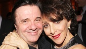 Nathan Lane with Act One's Andrea Martin.
