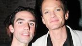Broadway alum Keith Nobbs with Hedwig headliner Neil Patrick Harris.
