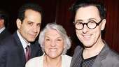Tony Shalhoub (Act One), Tyne Daly (Mothers and Sons) and Alan Cumming (Cabaret) make a starry trio.