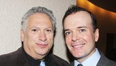 Casa Valentina playwright Harvey Fierstein and A Gentleman's Guide headliner Jefferson Mays.