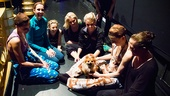 Bullets Over Broadway - Backstage Feature - 5/14 - Beth Johnson Nicely - Sarah Lin Johnson - Kim Faure - Amanda Kloots-Larsen - Helene Yorke - Bryn Dowling - Brittany Marcin - Karen Ziemba