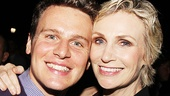 Public Theater Gala - 2014 - OP - 6/14 - Jonathan Groff - Jane Lynch